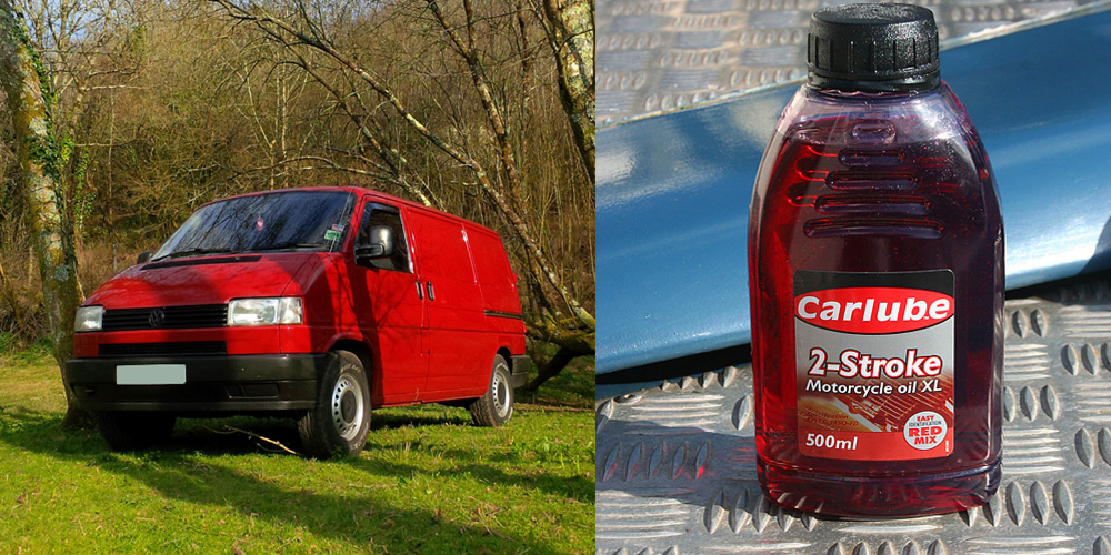 Using 2 stroke oil in your diesel VW Transporter