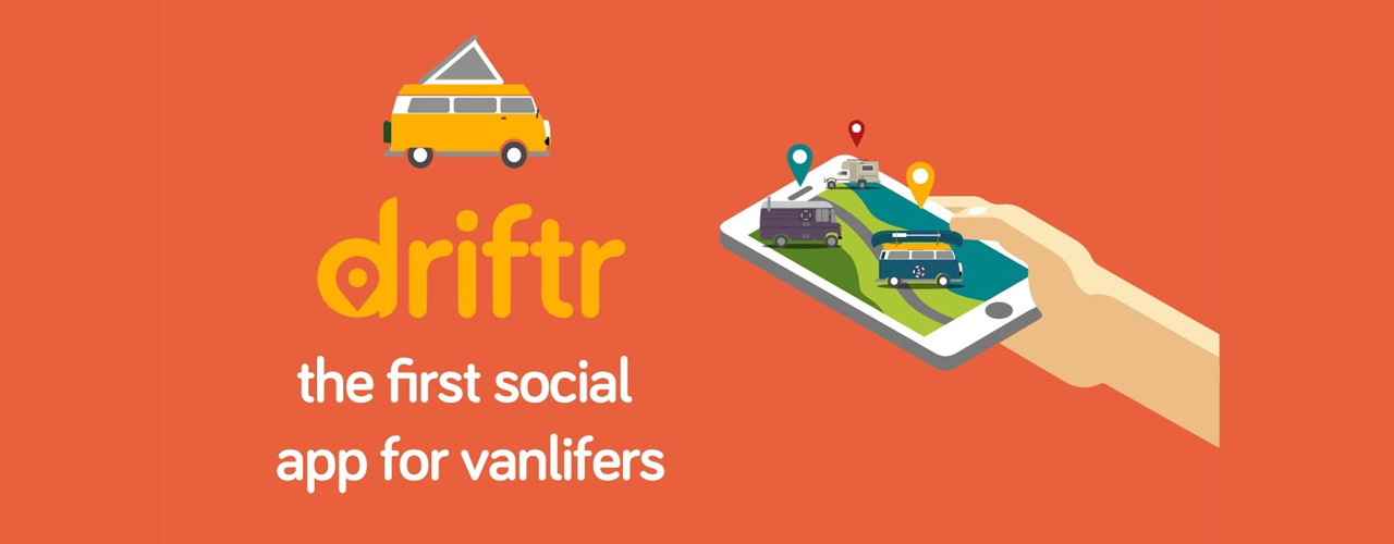 Driftr – The first social app for Vanlifers