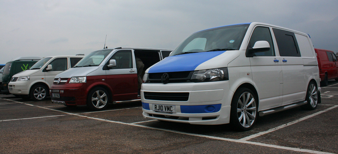 VW T4 Forum Meet, Exmouth, Devon