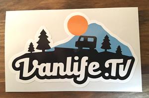 Vanlife.tv Sticker
