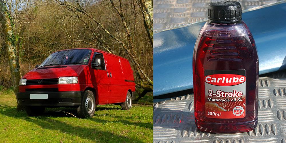 Using 2 stroke oil in your diesel VW Transporter