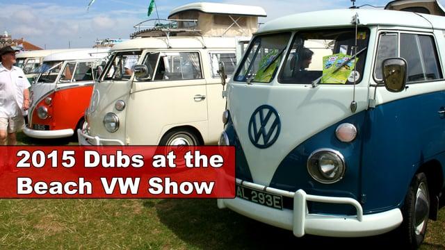 2015 Dubs at the beach VW show, Paignton, Devon