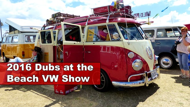 2016 Dubs on the beach VW show, Paignton, Devon