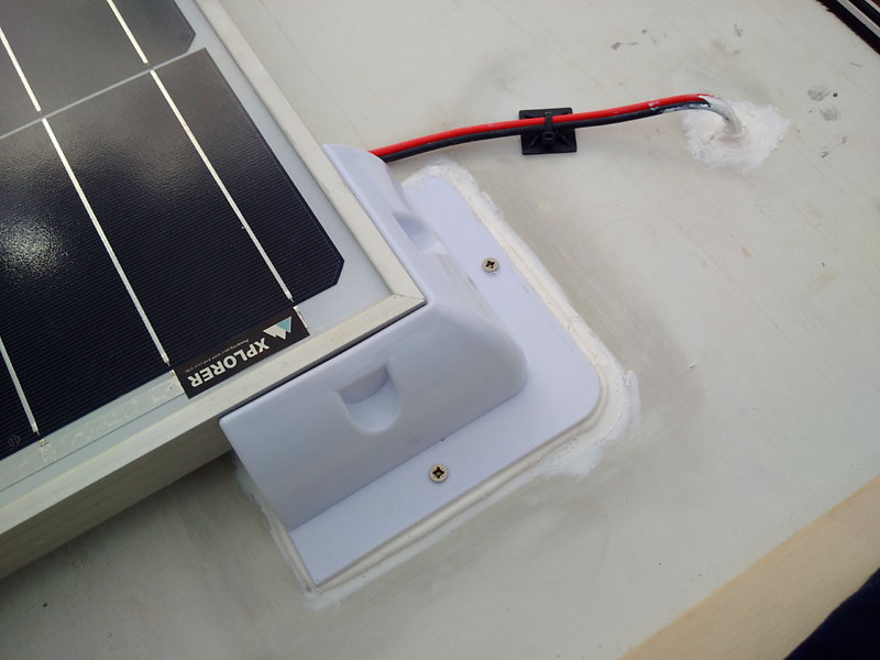 How To Install A Solar Panel To A Talbot Express Campervan