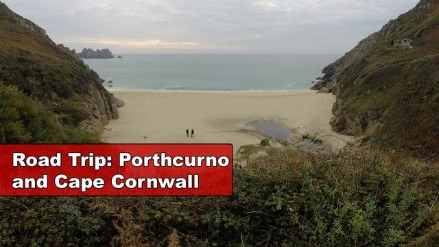 Road trip to Porthcurno, England
