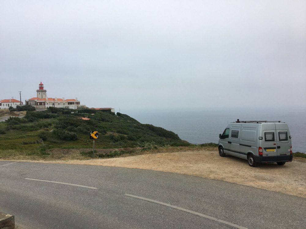 Spent a night at Cabo Da Roca  - the most westerly point of mainland Europe